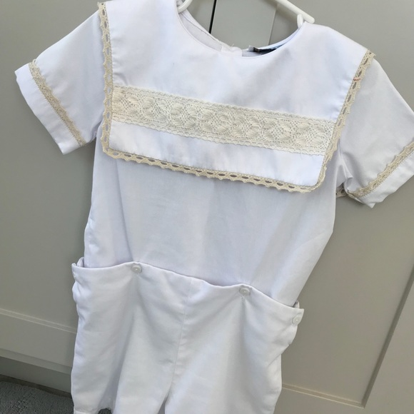 5530eda1cab88 Boys Heirloom Outfit 3T White Button-on Shorts Set.  M_5ab127d250687cbf9f7287be